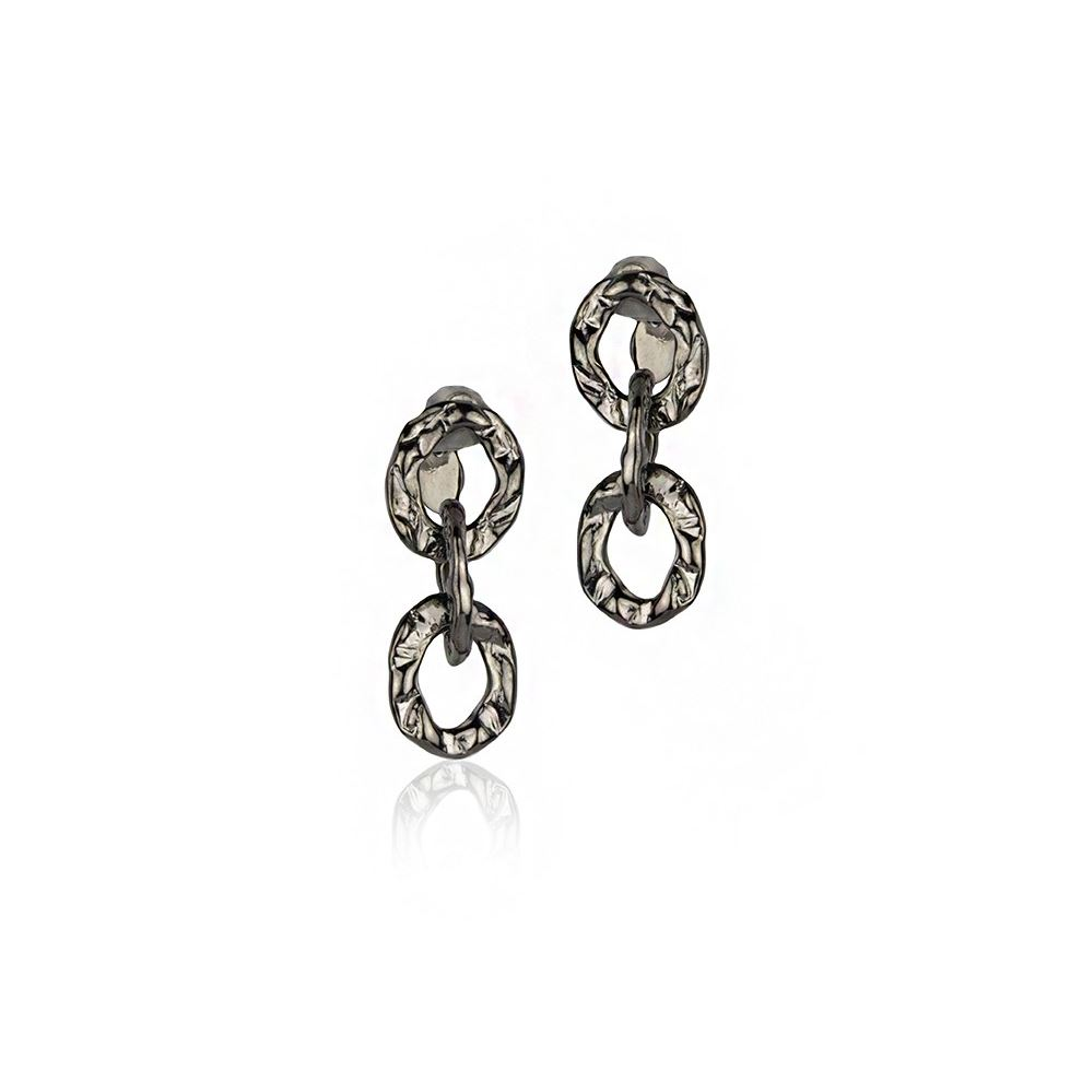 Earrings in Silver and...